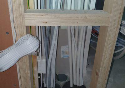 Sähköpalokatko lattiarakenteessa